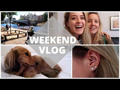 The Weekend Vlog: York & Daith Piercing!
