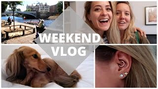 The Weekend Vlog: York & Daith Piercing!