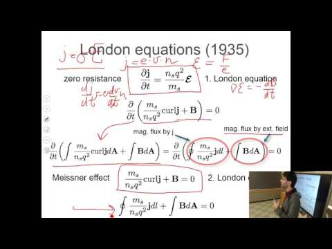Introduction to Solid State Physics, Lecture 19: Superconductivity Theory