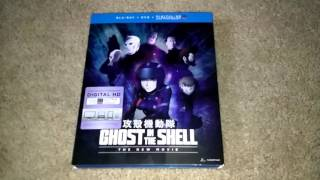 Ghost In The Shell The New Movie Dvd Blu-ray