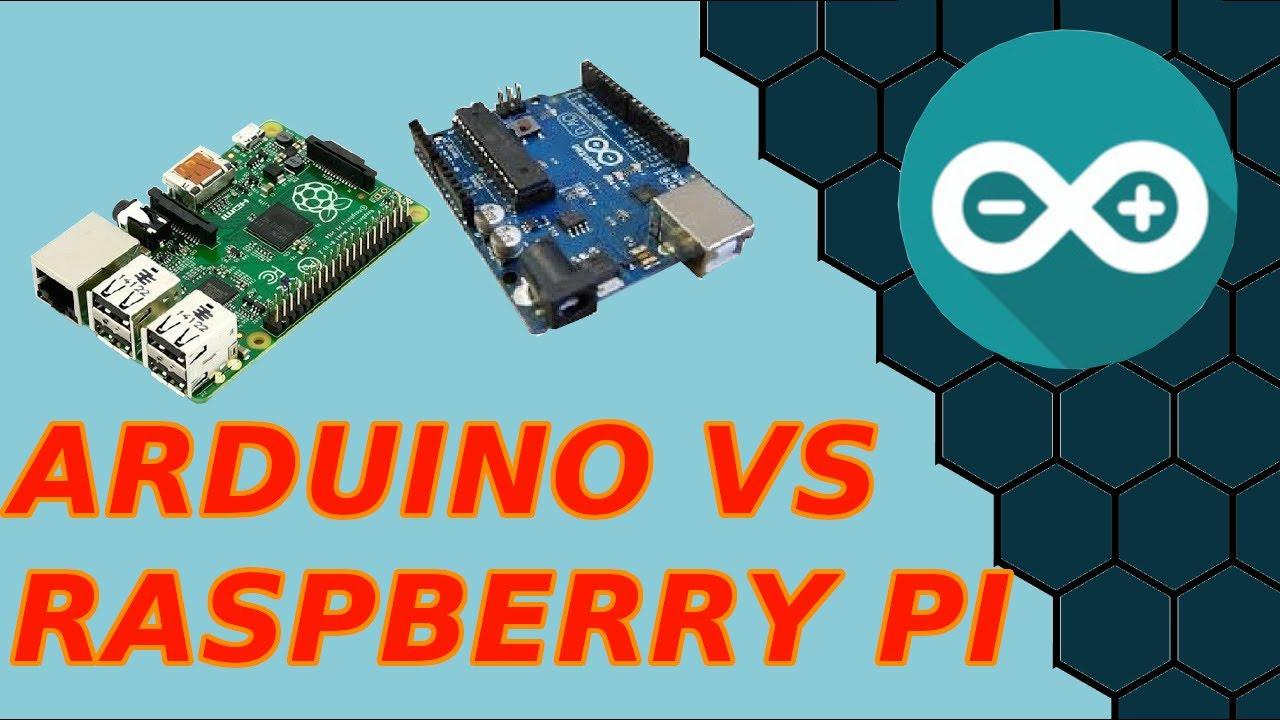 Arduino vs rapberry pi youtube