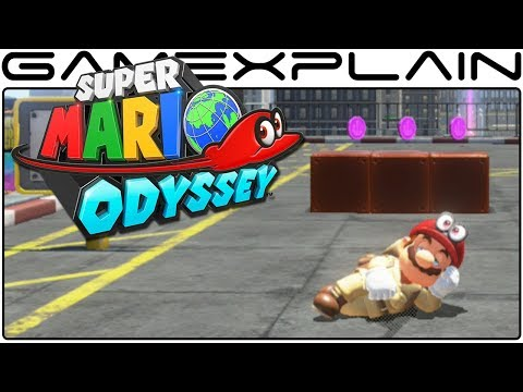 Super Mario Odyssey - Napping in New Donk City & What's Behind the Curtain (Demo Gameplay)