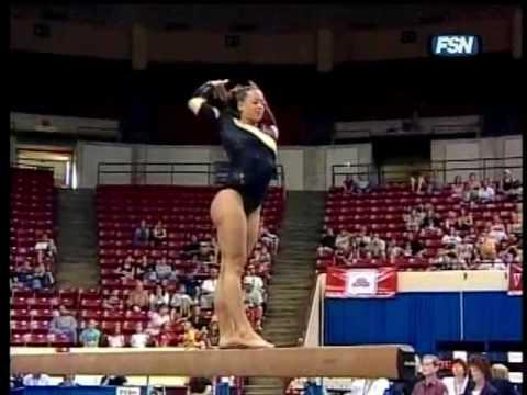 Nicole Harris - 2007 Pac 10 Championships Balance ...