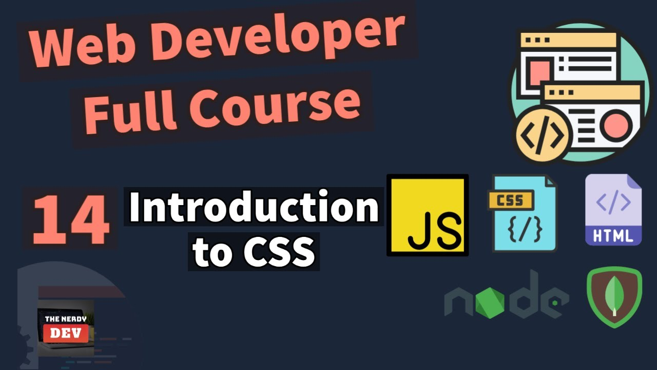 Web Developer Full Course - Introduction to CSS - #14