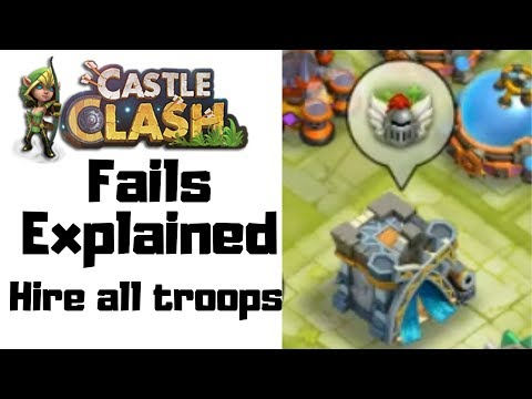 Hire All Troops | Explained | Castle Clash | Did IGG Fail Us Again?