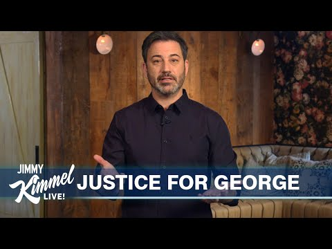 Jimmy Kimmel on George Floyd Riots in Minneapolis & Trump's Violent Stupidity
