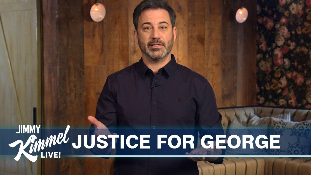 Jimmy Kimmel on George Floyd, Riots in Minneapolis & Trump's Violent Stupidity