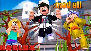 ROBLOX-giving MODERATOR to everyone on the BBB