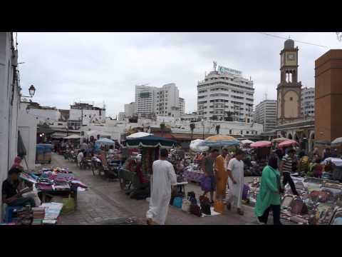 local market in Casablanca (Morocco 2014)