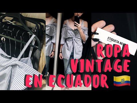 LUGARES DONDE COMPRAR ROPA VINTAGE EN ECUADOR   MXNTILLX