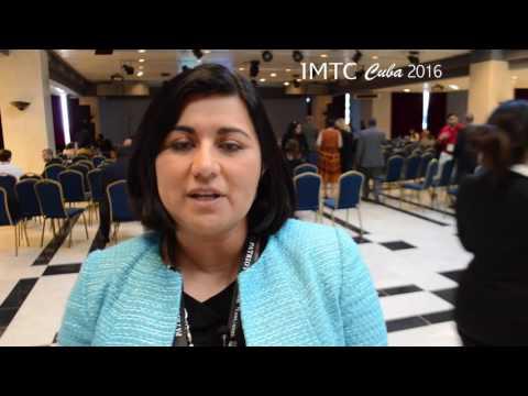 IMTC CUBA 2016  Entrevista a Aurora Garza de Bancomer Transfer Services -  Junio 27-29
