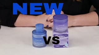 LANEIGE  🆕 New Lavender Water Sleeping Mask Review, How to Use, Ingredients, Comparison to Original