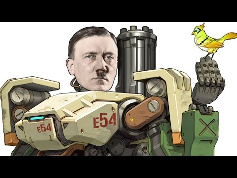 Overwatch:  Mecha Hitler