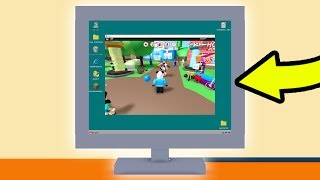 THIS ROBLOX GAME HAS A WORKING COMPUTER! OMG!