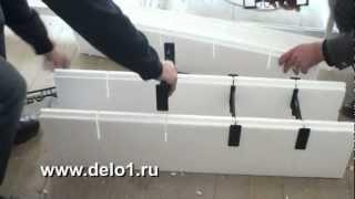 видео Несъёмная опалубка из пенополистирола