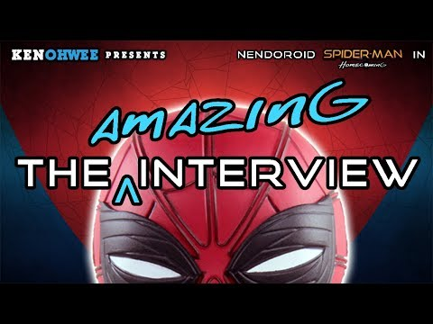 Nendoroid Spiderman Homecoming Stop Motion Special Review - The Amazing Interview