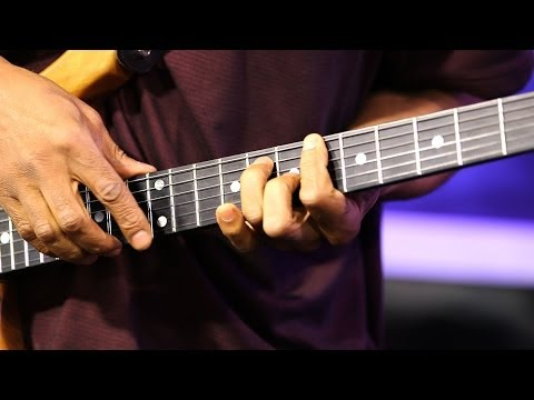 Jazz Guitarist Stanley Jordan Shows 'Touch' Technique