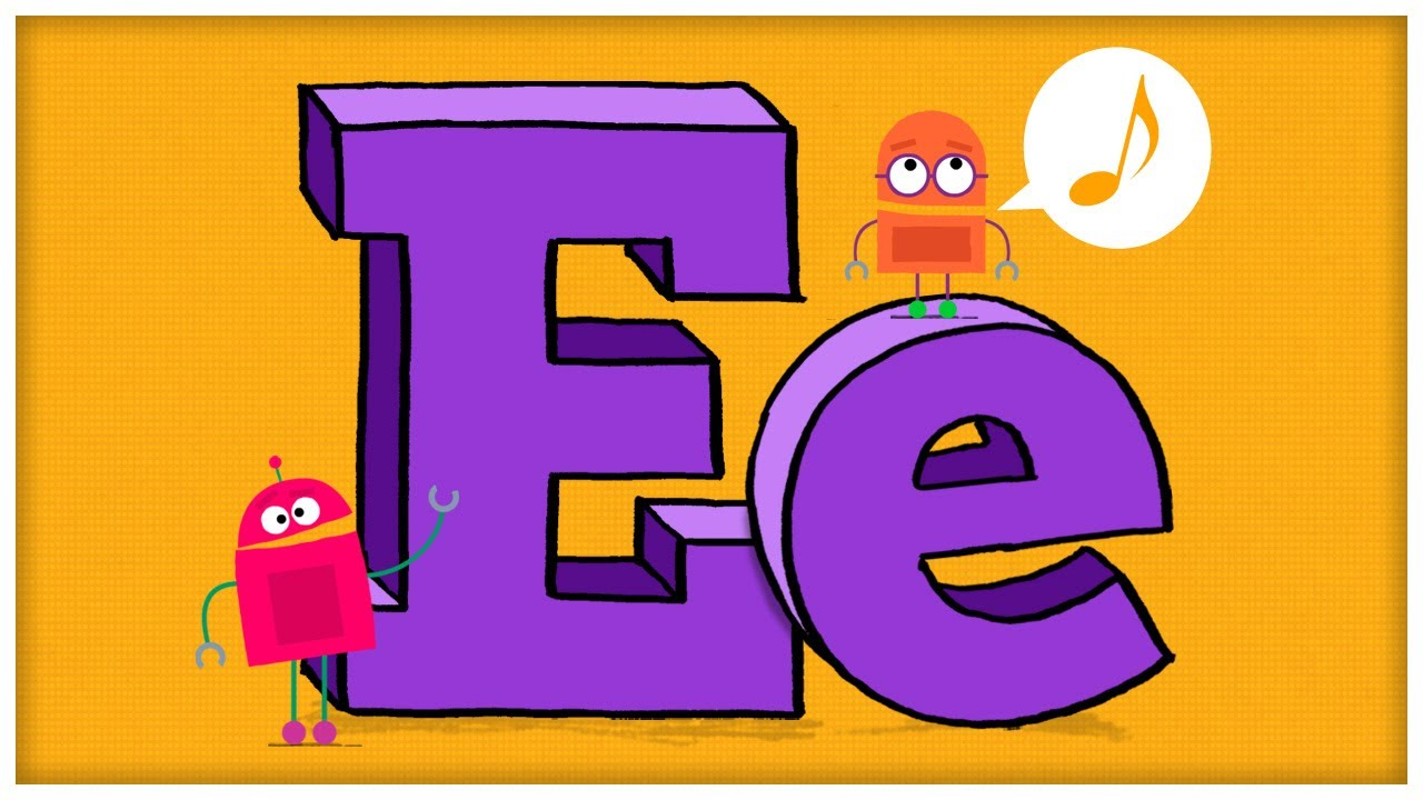 ABC Song: The Letter E,