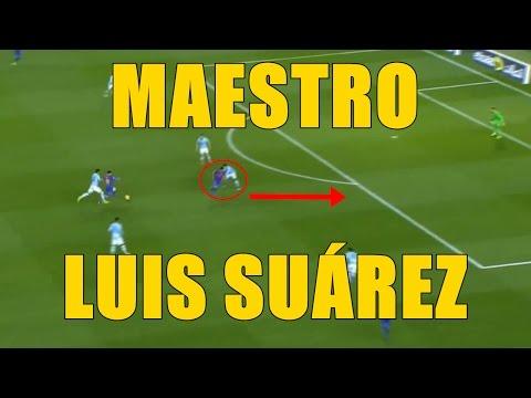 EL MAGISTRAL MOVIMIENTO DE LUIS SUÁREZ EN EL GOLAZO DE MESSI
