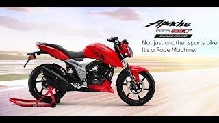2018 TVS Apache RTR 160 4V | The New Race Machine