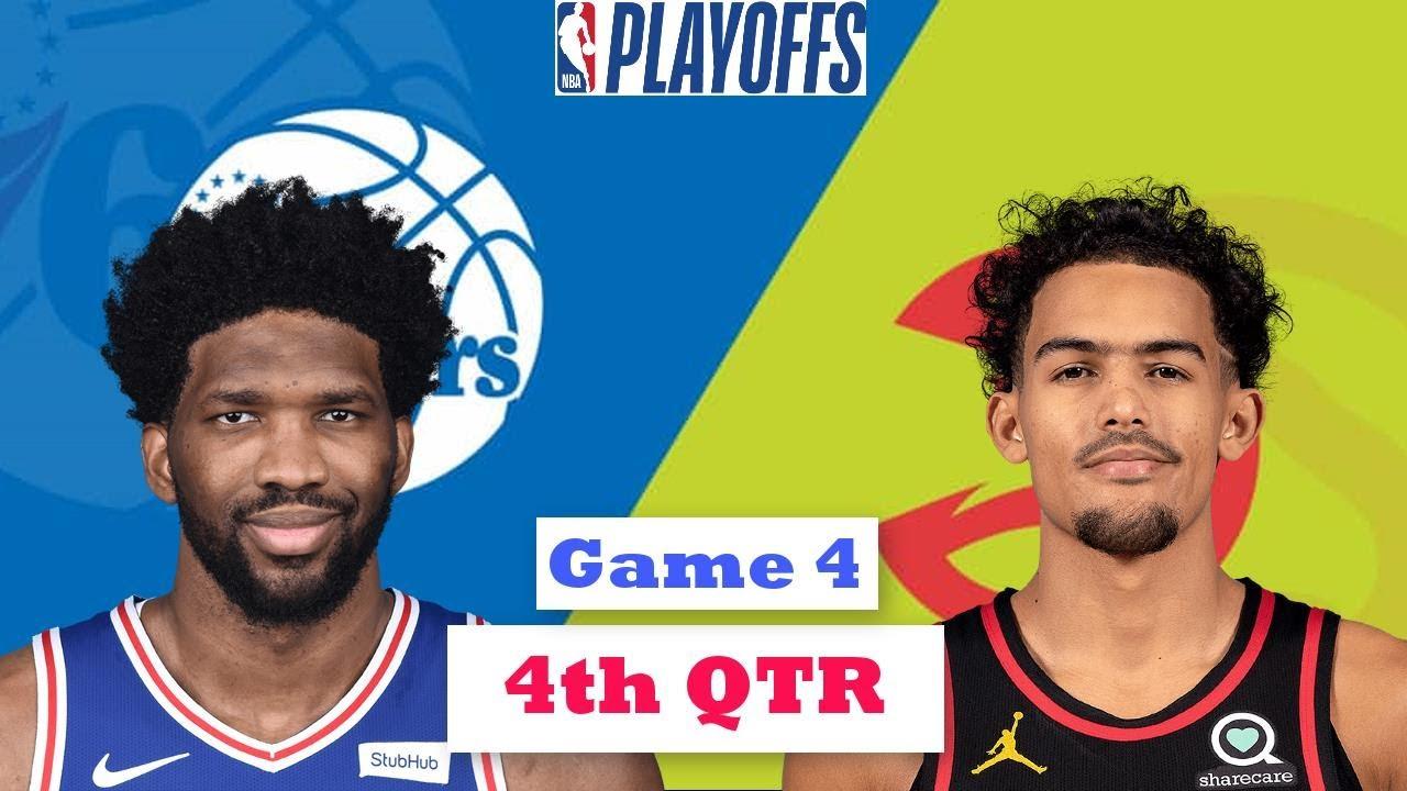 Philadelphia 76ers vs. Atlanta Hawks Full Highlights 4th Quarter Game 4 | NBA Playoffs 2021