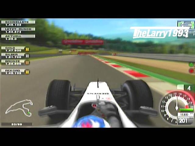 [PS2] F1 2005 - K.Räikkonen in Spa 1.42.604