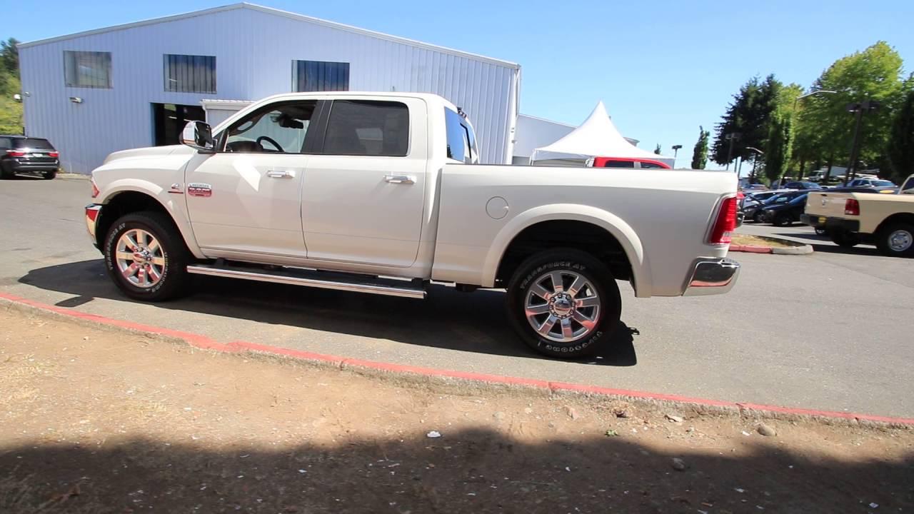 2016 Dodge Ram 2500 Laramie Longhorn | Pearl White | GG370090 ...