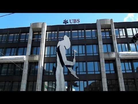 Swiss banks place walking Tour switzerland 2014 Basel-City