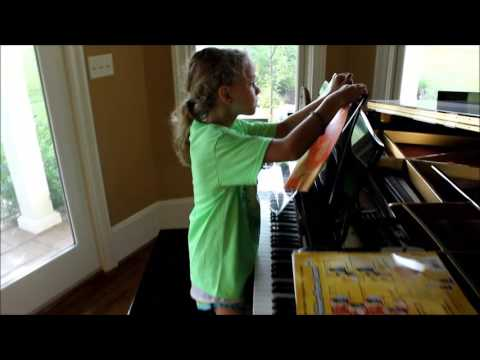 How to Attach the Grand Stand for Piano to the Piano Music Rack