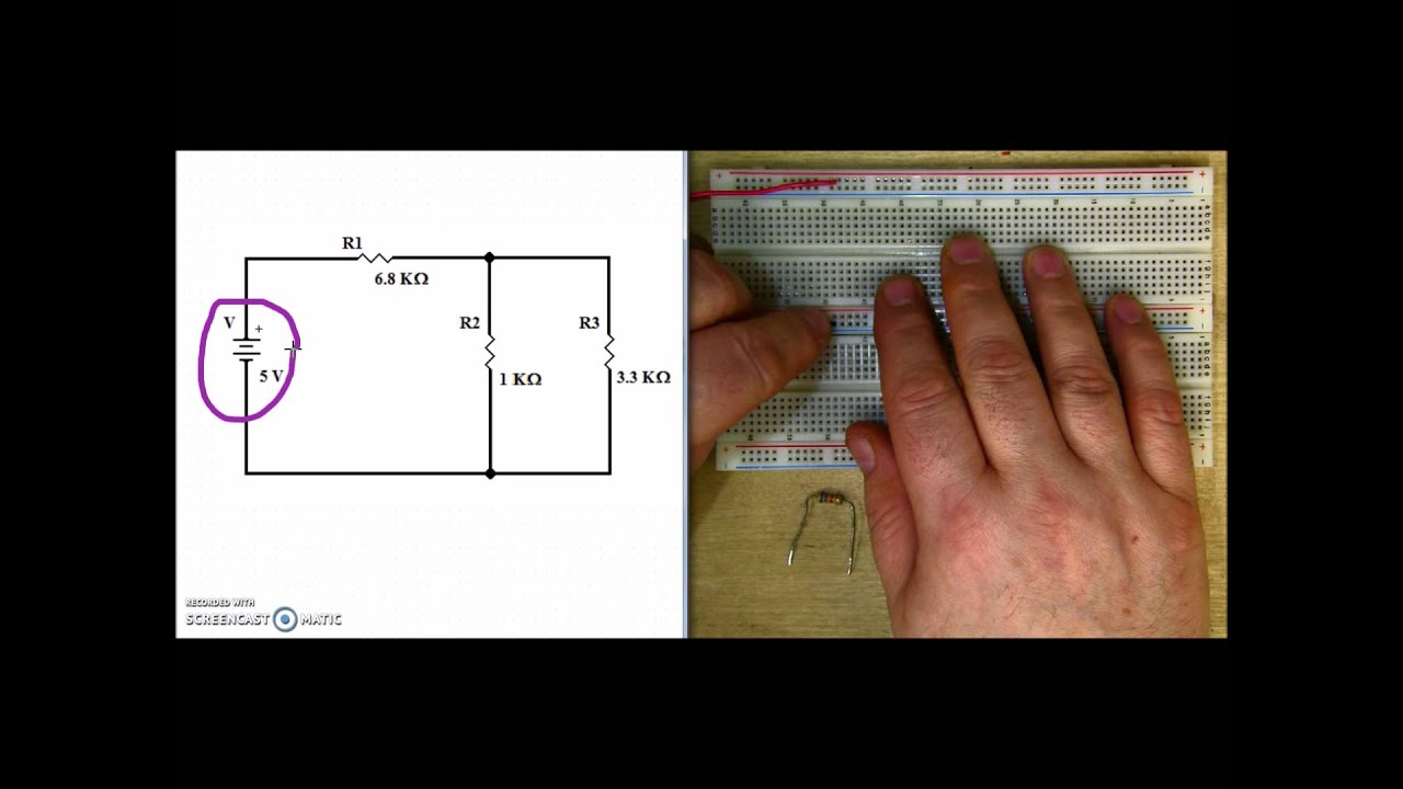 Building A Series Parallel Circuit Youtube