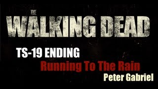 THE WALKING DEAD - OST - 1x06 TS-19 - CDC Explosion Soundtrack / Peter Gabriel - Running To The Rain