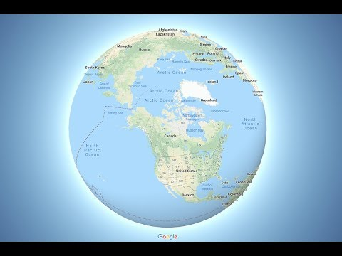 Why Did Google Maps Switch to a Globe?
