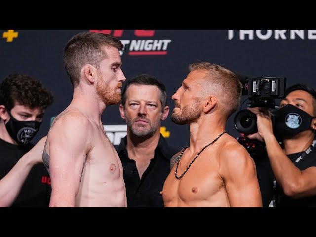 UFC Vegas 32: Weigh-in Faceoffs