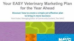 NAVC Webinar Easy Veterinary Marketing Plan