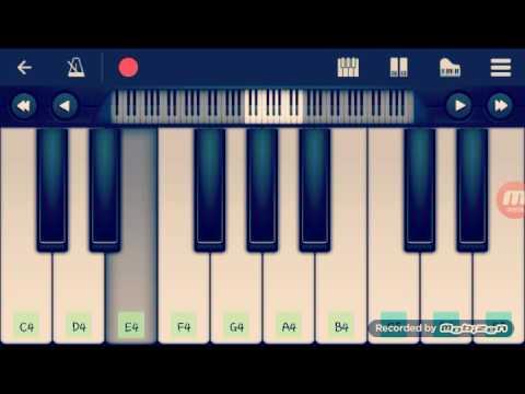 Surili akhiyo Wale  prefect piano tutorial