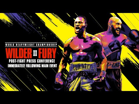 WILDER VS FURY II: Post-Fight Press Conference