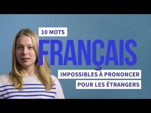 10 mots français imprononçables !