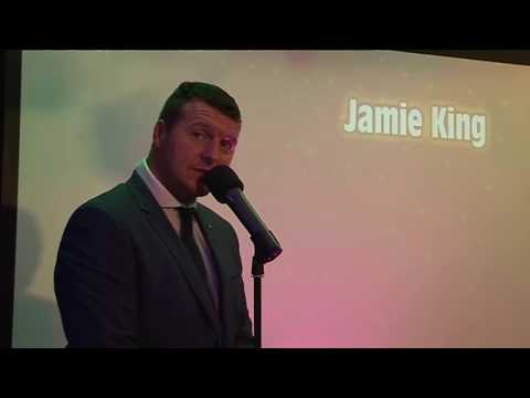Jamie King singing One pair of hands