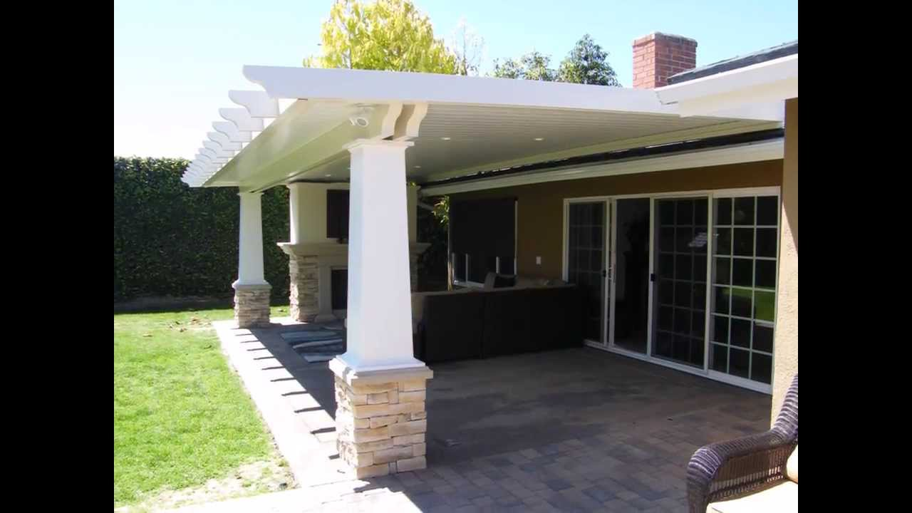 Elegant Patio Cover Designs Huntington Beach California Project   YouTube