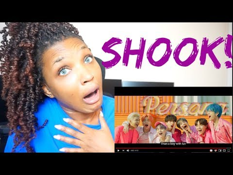 BTS - Boy With Luv feat. Halsey' Official MV REACTION