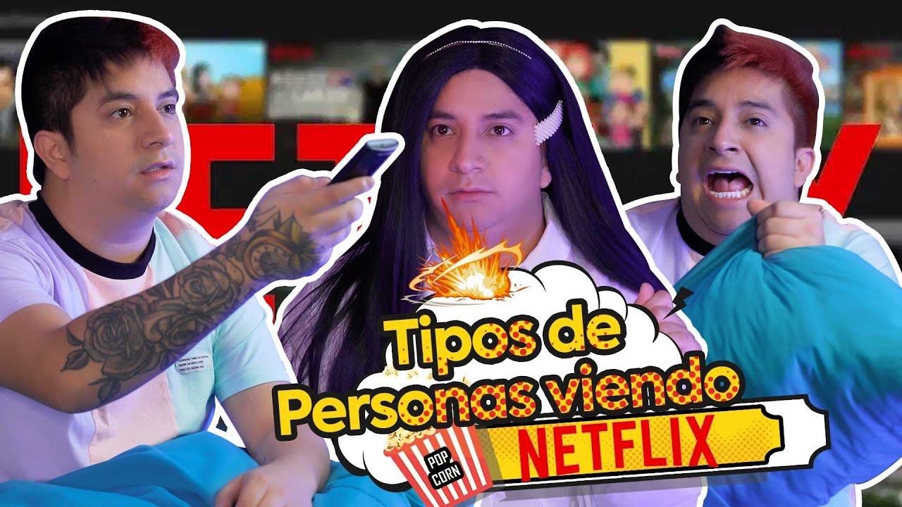 Tipos de personas viendo Netflix | Mario Aguilar