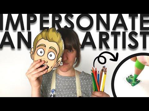 EPIC TEENY WEENY DRAGON CHALLENGE - Jazza's Art Box Impersonation thumbnail