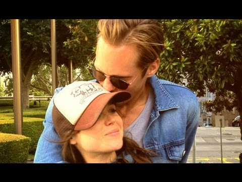 Alexander Skarsgard And Ellen Page Kiss In Park! Officially Dating!?