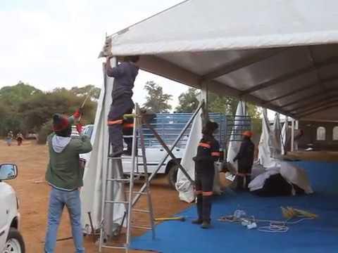 Preparations of Masire's Burial