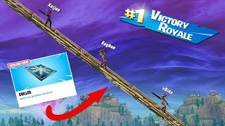 *NEW* FREEZE TRAP COURSE From *MAX HEIGHT* In Fortnite Battle Royale!