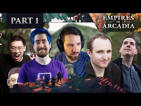 Empires of Arcadia - D&D | EP 01 ft. Trump, Koibu, Zizaran & Devin Nash