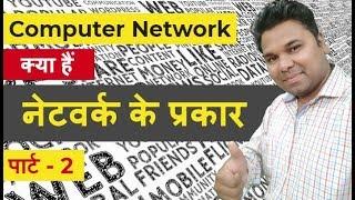 Lan Man Wan Difference - Types of Network in Hindi