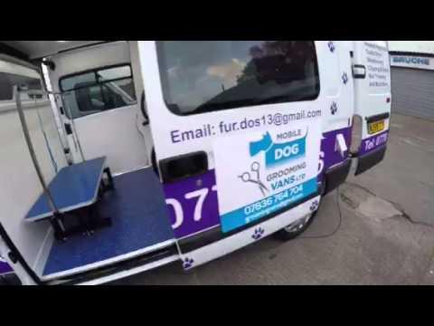 Mobile Dog Grooming Van Conversions