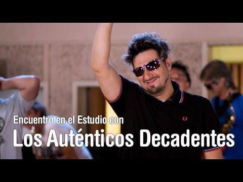 Los Autenticos Decadentes - Encuentro en el Estudio - Programa Completo [HD]