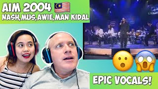 Download lagu AIM 2004 NASH, MUSH, AWIE, MAN KIDAL | RECTION!🇲🇾